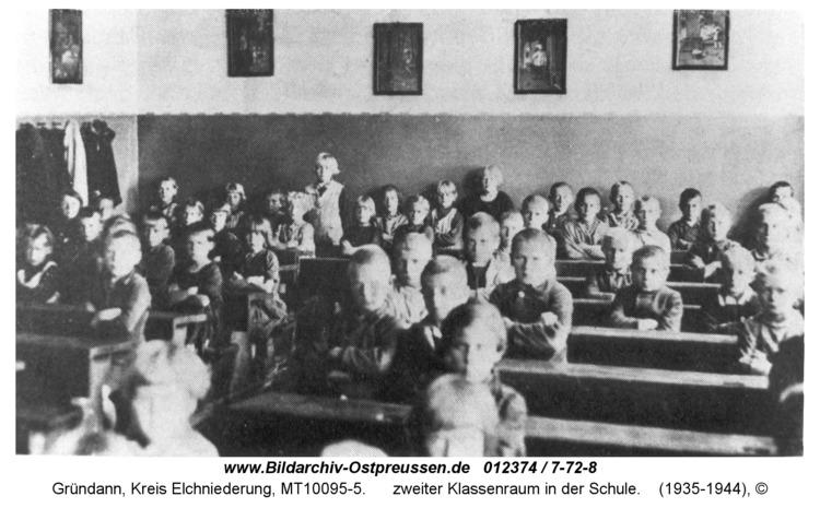 Gründann, zweiter Klassenraum in der Schule