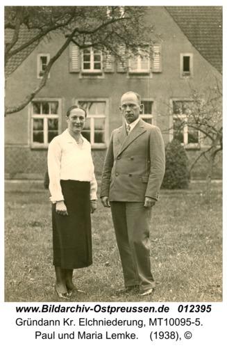 Gründann, Paul und Maria Lemke