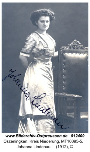 Oszeningken, Johanna Lindenau
