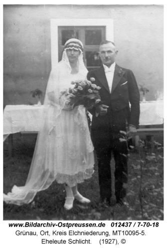 Grünau, Eheleute Schlicht