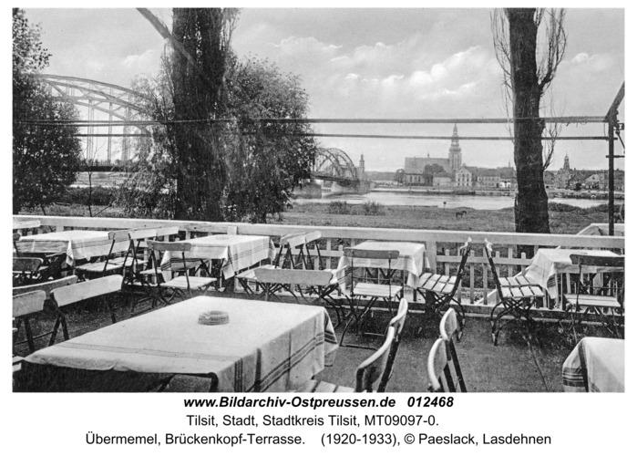 Tilsit, Übermemel, Brückenkopf-Terrasse