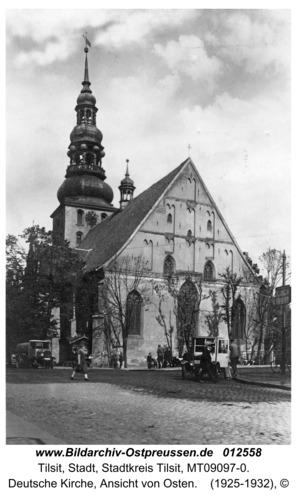 Tilsit, Deutsche Kirche, Ansicht von Osten