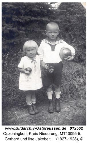 Oszeningken, Gerhard und Ilse Jakobeit