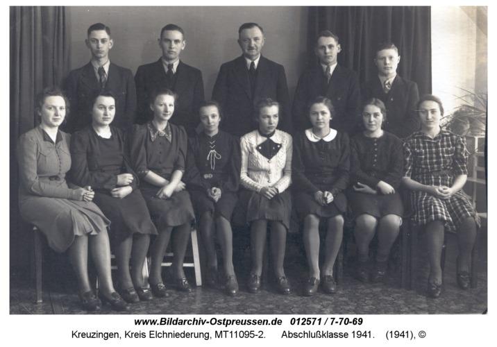 Kreuzingen, Abschlußklasse 1941