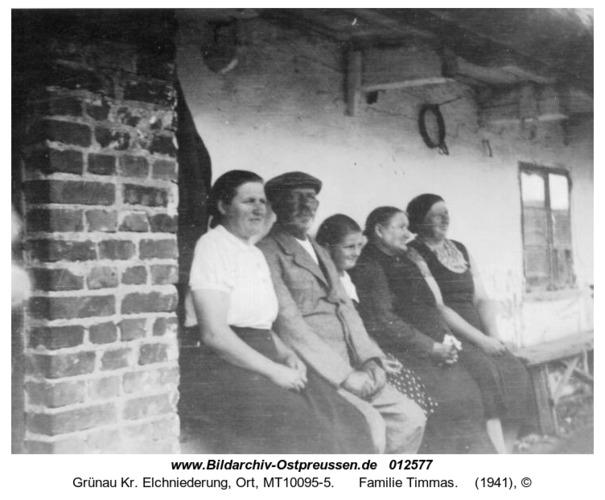 Grünau, Familie Timmas