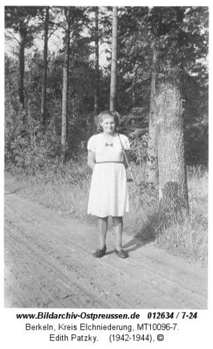 Berkeln, Edith Patzky