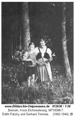 Berkeln, Edith Patzky und Gerhard Timmas