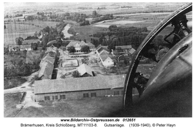 Brämerhusen, Gutsanlage