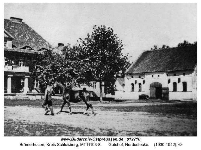 Brämerhusen, Gutshof, Nordostecke