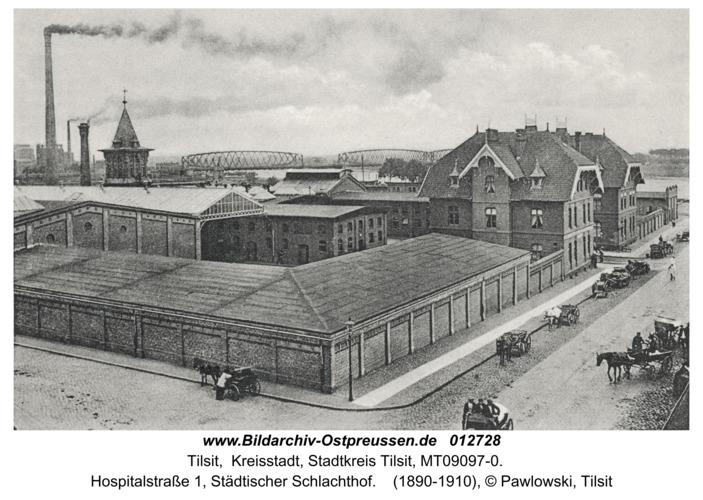 Tilsit, Hospitalstr., Städtischer Schlachthof