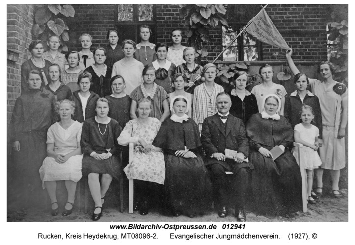 Rucken Kr. Heydekrug, Evangelischer Jungmädchenverein
