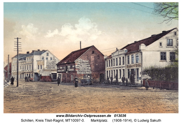 Schillen, Marktplatz