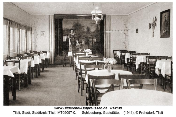 Tilsit, Schlossberg, Gaststätte