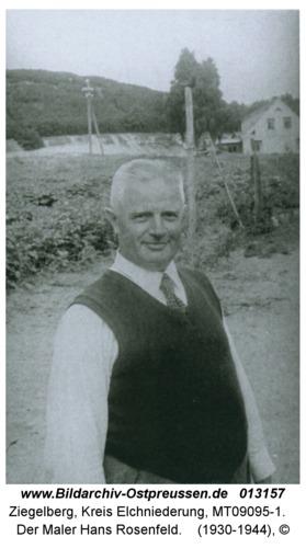 Ziegelberg, Der Maler Hans Rosenfeld