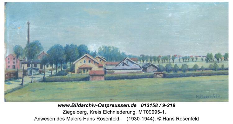 Ziegelberg, Anwesen des Malers Hans Rosenfeld
