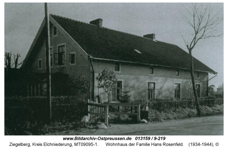 Ziegelberg, Wohnhaus der Familie Hans Rosenfeld