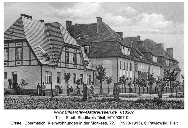 Tilsit, Ortsteil Übermteich, Kleinwohnungen in der Moltkestr. ??