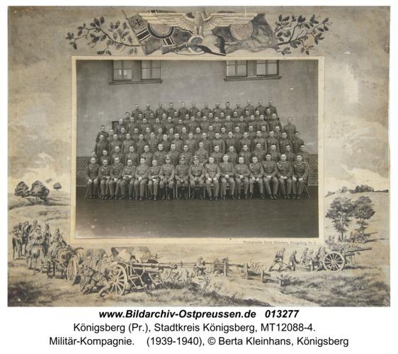 Königsberg, Militär-Kompagnie