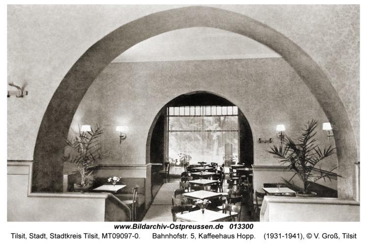 Tilsit, Bahnhofstr. 5, Kaffeehaus Hopp