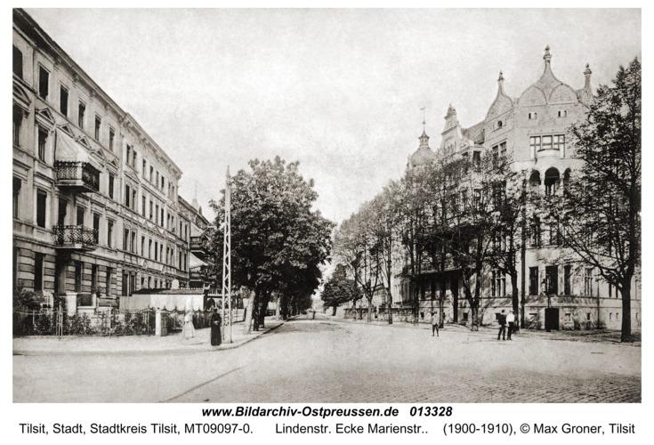 Tilsit, Lindenstr. Ecke Marienstr.