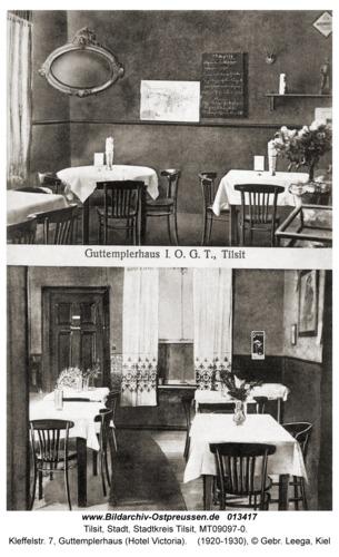 Tilsit, Kleffelstr. 7, Guttemplerhaus (Hotel Victoria)