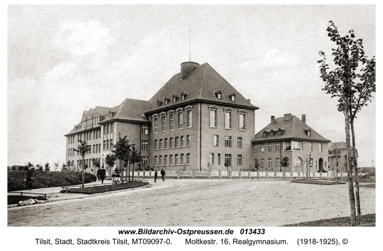 Tilsit, Moltkestr. 16, Realgymnasium