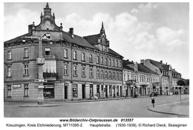 Kreuzingen, Hauptstraße