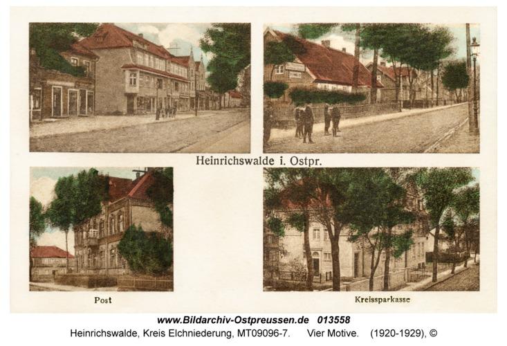 Heinrichswalde, Vier Motive