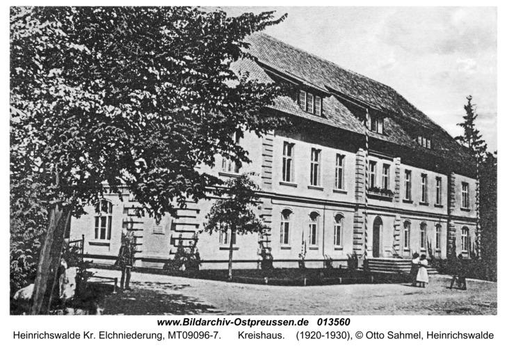 Heinrichswalde, Kreishaus