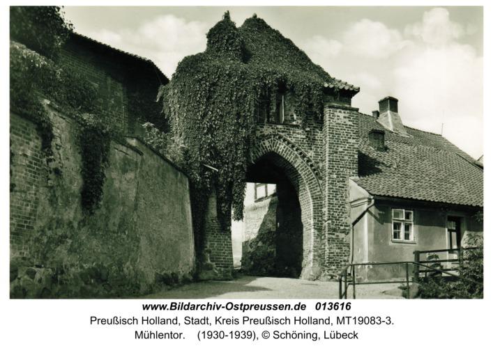 Preußisch Holland, Mühlentor