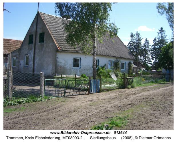 Trammen, Siedlungshaus