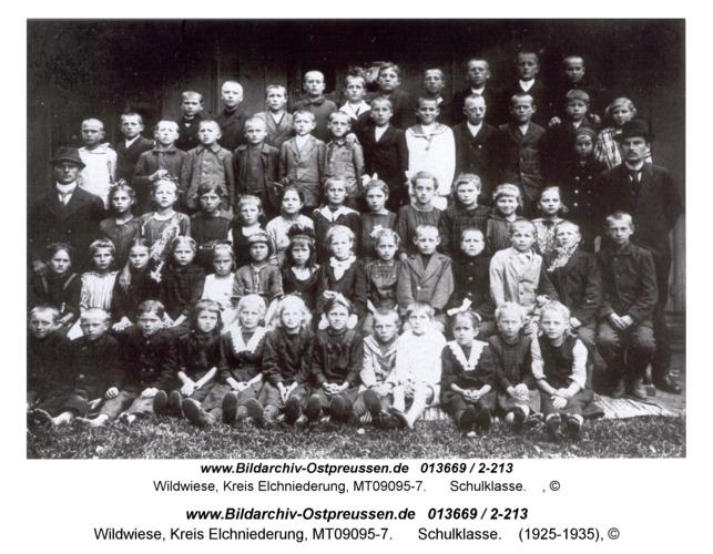 Wildwiese, Schulklasse