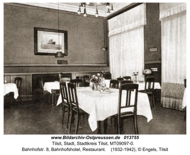 Tilsit, Bahnhofstr. 8, Bahnhofshotel, Restaurant