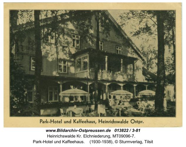 Heinrichswalde, Park-Hotel und Kaffeehaus