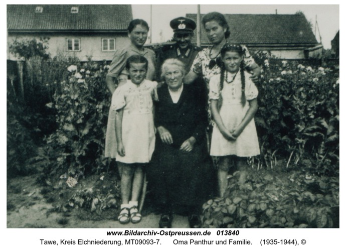 Tawe, Oma Panthur und Familie