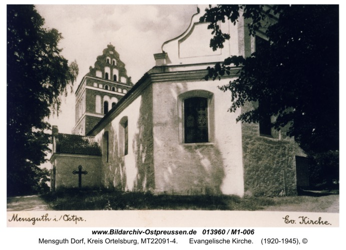 Mensguth, Evangelische Kirche