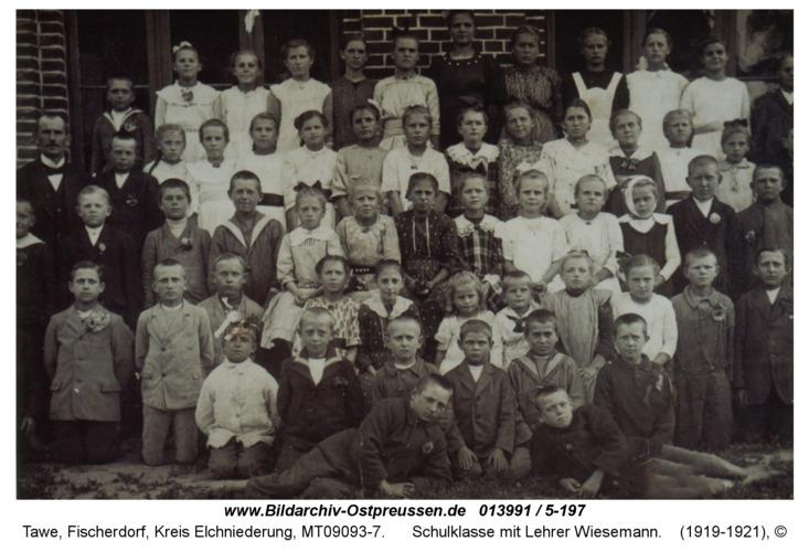Tawe, Schulklasse mit Lehrer Wiesemann