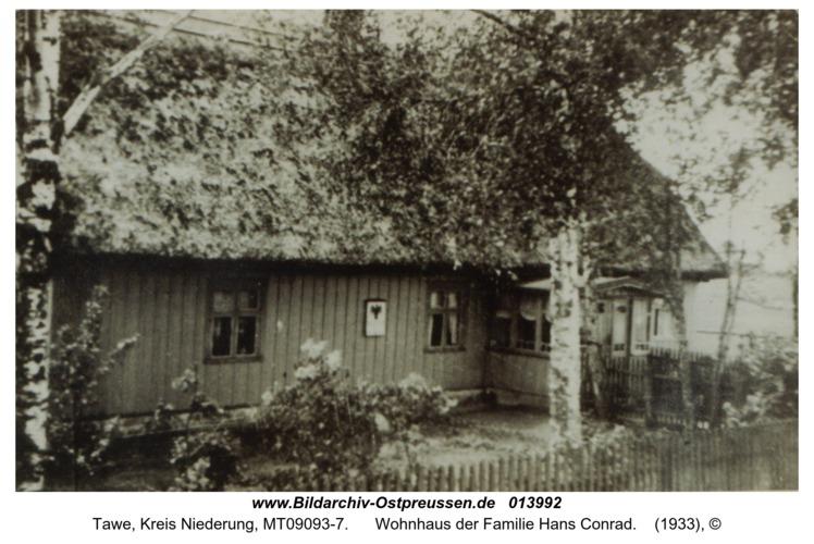 Tawe, Wohnhaus der Familie Hans Conrad