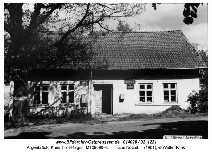 Argenbrück, Haus Nötzel