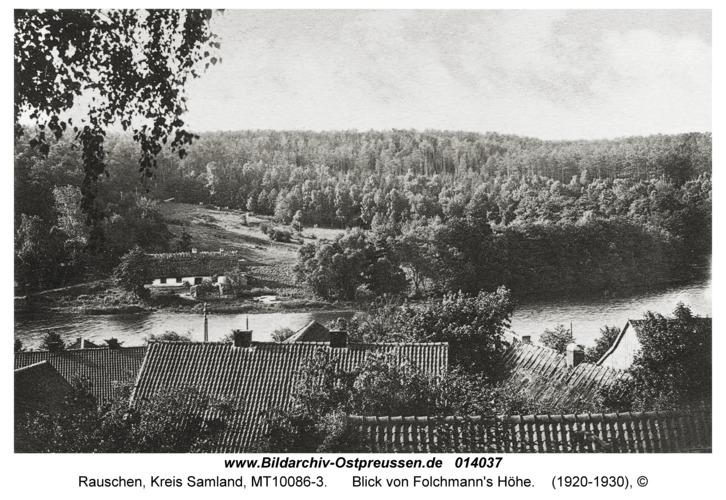 Rauschen, Blick von Folchmann's Höhe