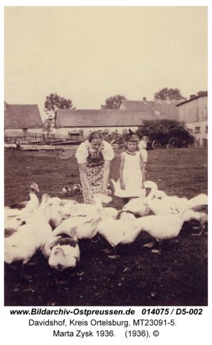 Davidshof, Marta Zysk 1936