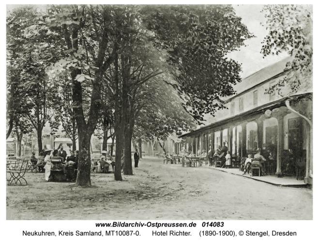 Neukuhren, Hotel Richter
