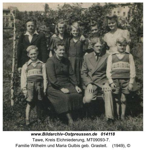 Tawe, Familie Wilhelm und Maria Gulbis geb. Grasteit