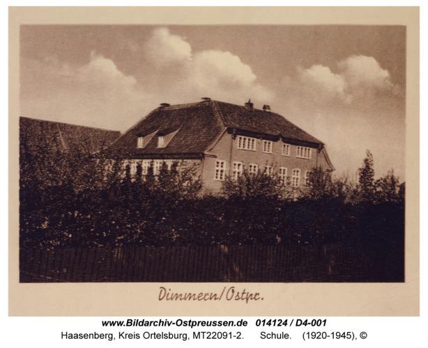 Haasenberg, Schule