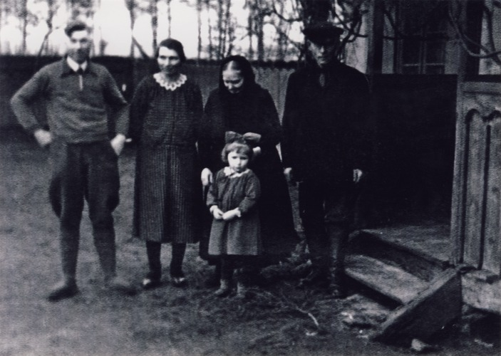 Ebendorf, Familie Gustav Niedrich 1939