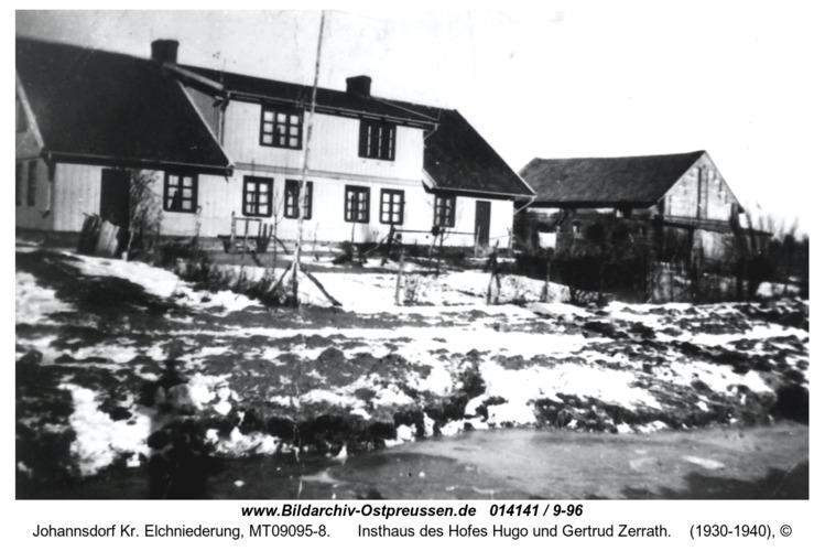 Johannsdorf, Insthaus des Hofes Hugo und Gertrud Zerrath
