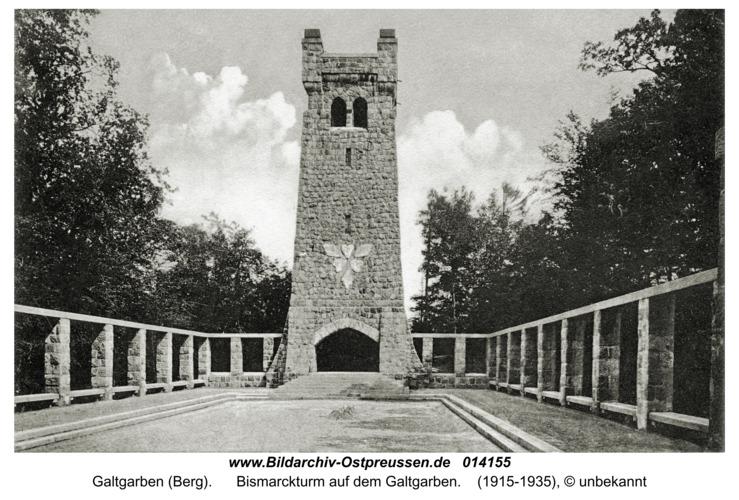 Galtgarben, Bismarckturm auf dem Galtgarben