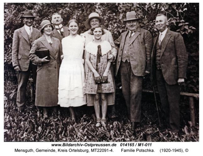 Mensguth, Familie Potschka