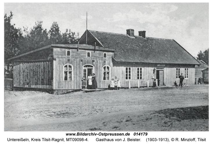 Untereißeln, Gasthaus von J. Beister