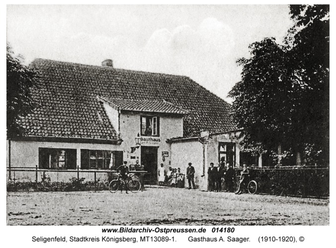 Seligenfeld, Gasthaus A. Saager